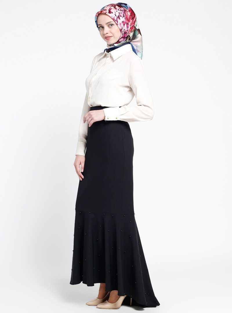 Sevilay Giyim Tesettür Uzun Etek Modelleri