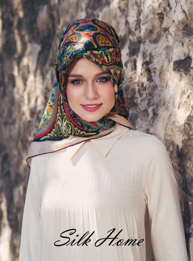 Silk Home İpek Eşarp Modelleri