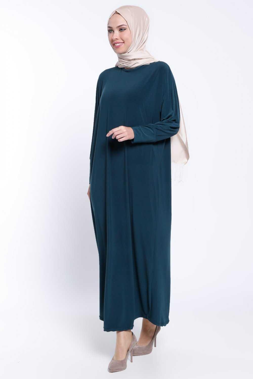 Beha Tesettür Yarasa Kol Elbise Modelleri