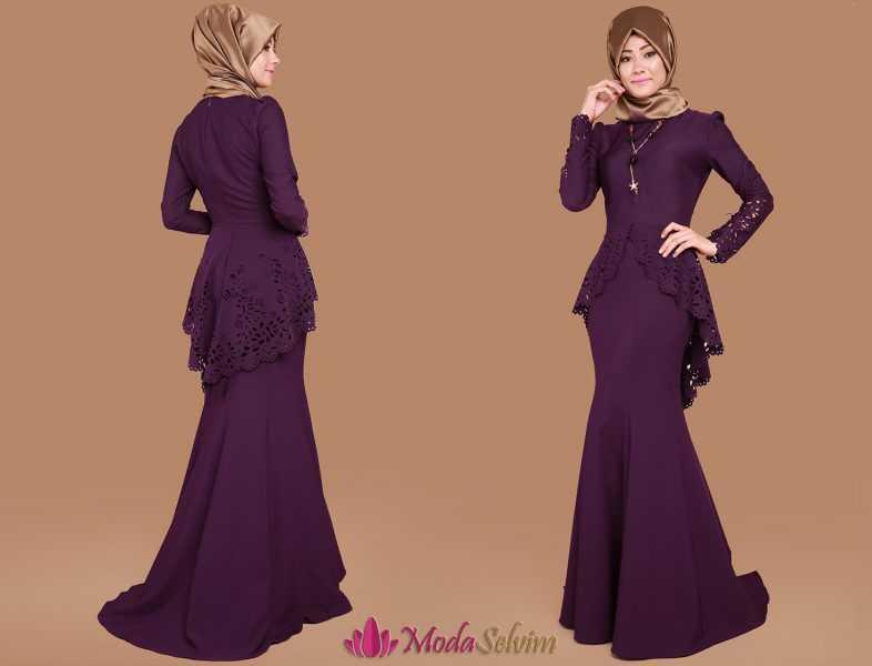 En Şık Moda Selvim Abiye Elbise Modelleri