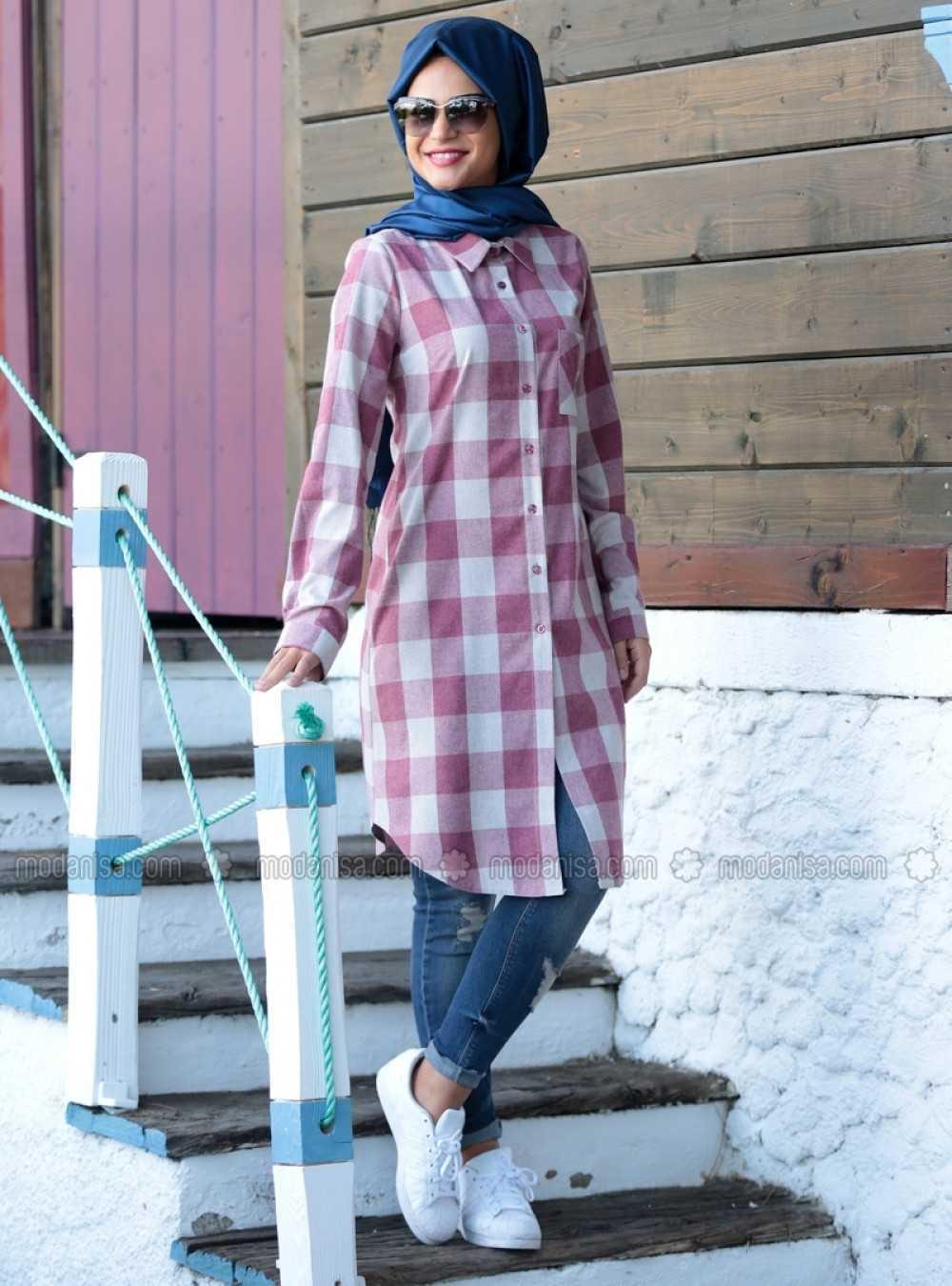 Miss Zera Tesettür Oduncu Gömlek Modelleri