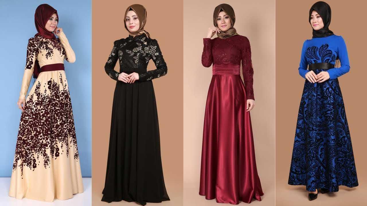 Moda Selvim Kemerli Abiye Elbise Modelleri