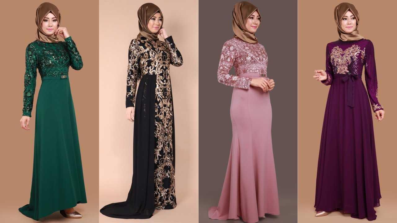 Moda Selvim Pul Payet Abiye Elbise Modelleri