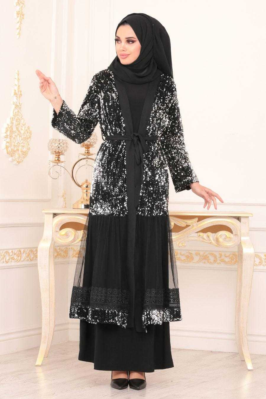 Nayla Collection Tesettür Tül Abaya Modelleri