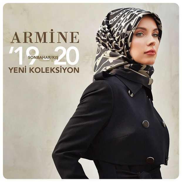 2019-2020 Armine Sonbahar Kış Tesettür Modelleri