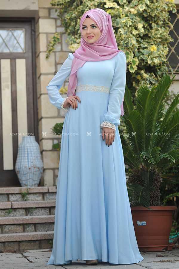 Alyadua Tesettür İpek Elbise Modelleri