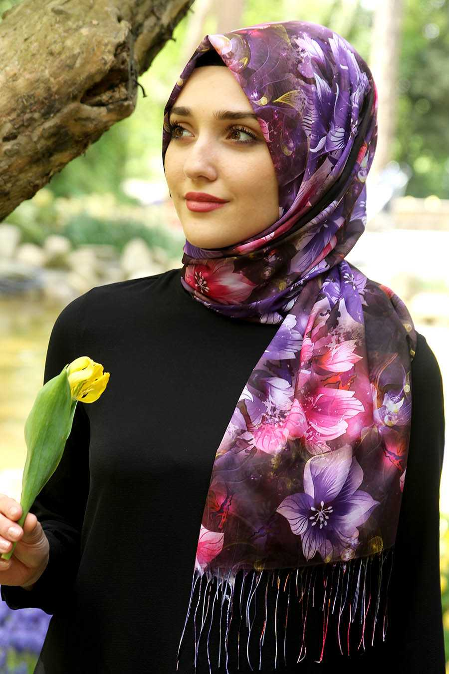 Feiza Collection Çiçek Desenli Şal Modelleri