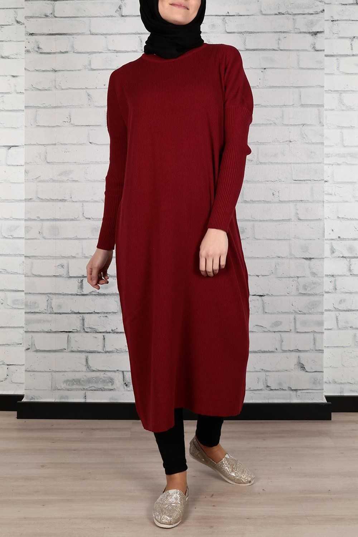 Kiraz Giyim Fitilli Tunik Modelleri