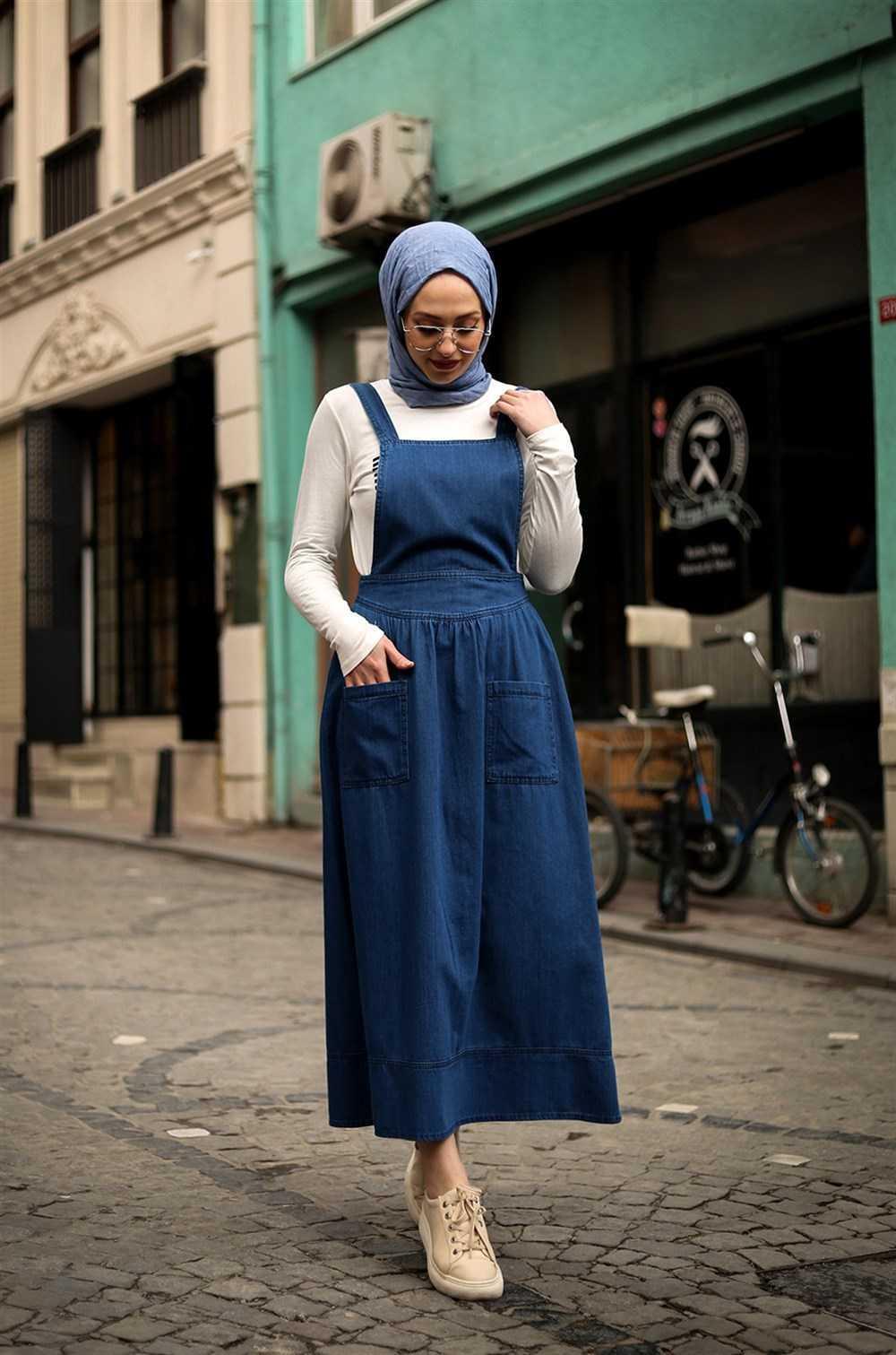 Kiraz Giyim Tesettür Kot Jile Modelleri
