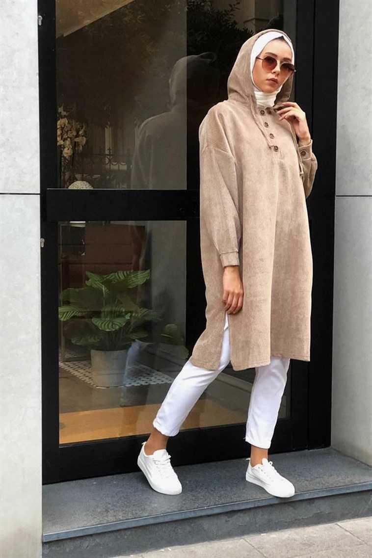 Melike Tatar Fitilli Tunik Modelleri