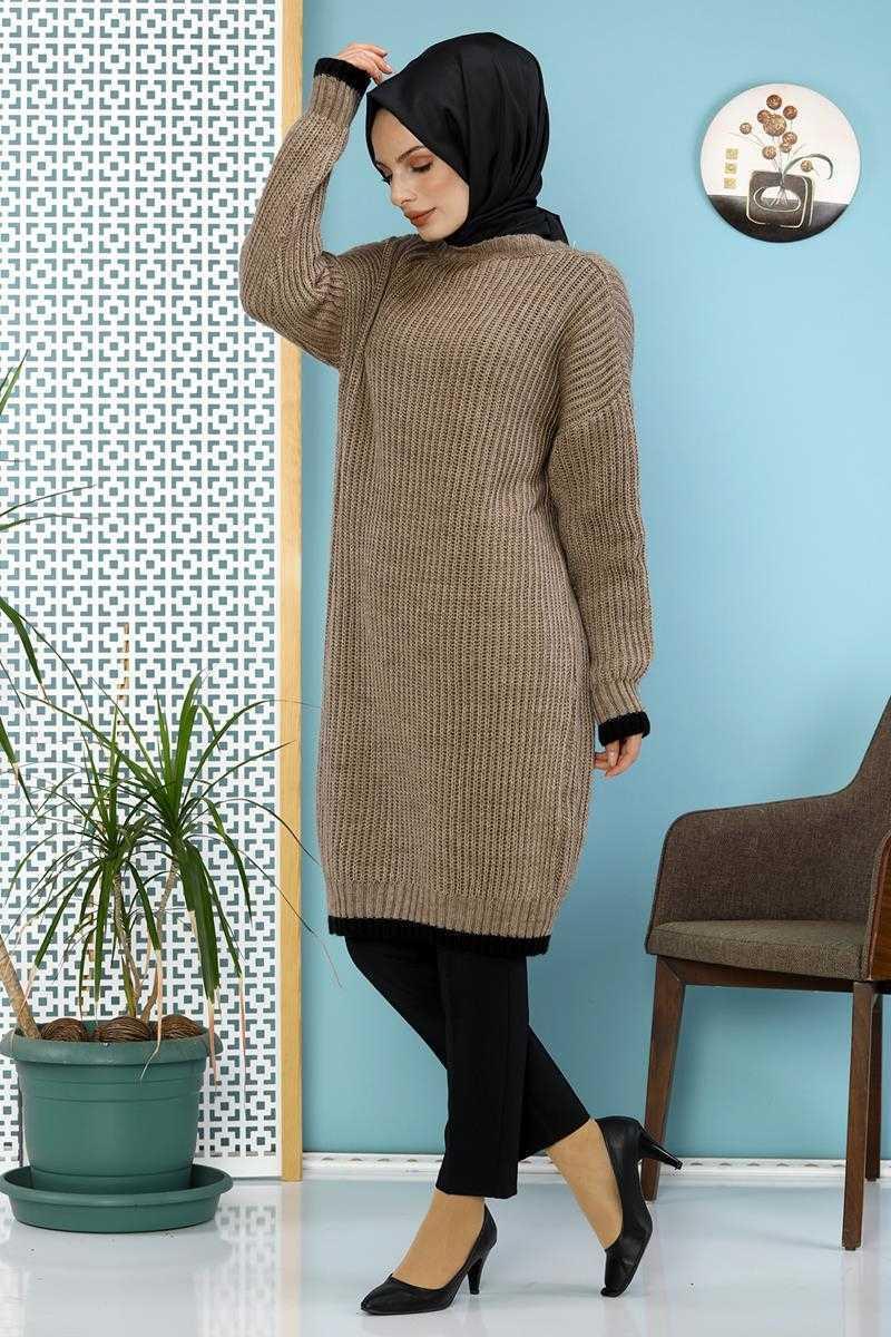 Moda Ebva Fitilli Tunik Modelleri