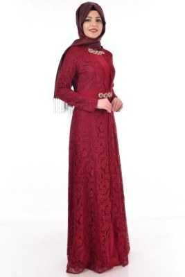 Modamerve Tesettür İpek Elbise Modelleri