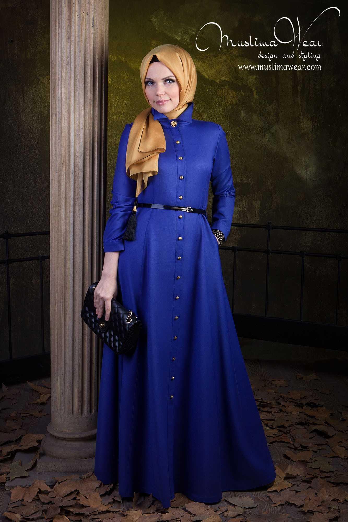 Muslima Wear Tesettür İpek Elbise Modelleri
