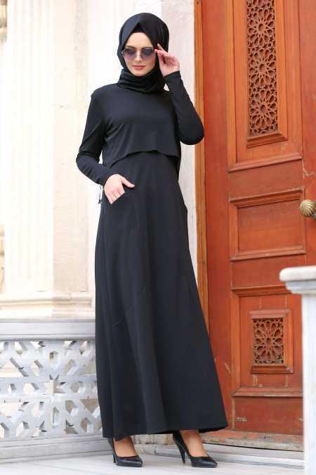 Nayla Collection Cepli Tesettür Elbise Modelleri