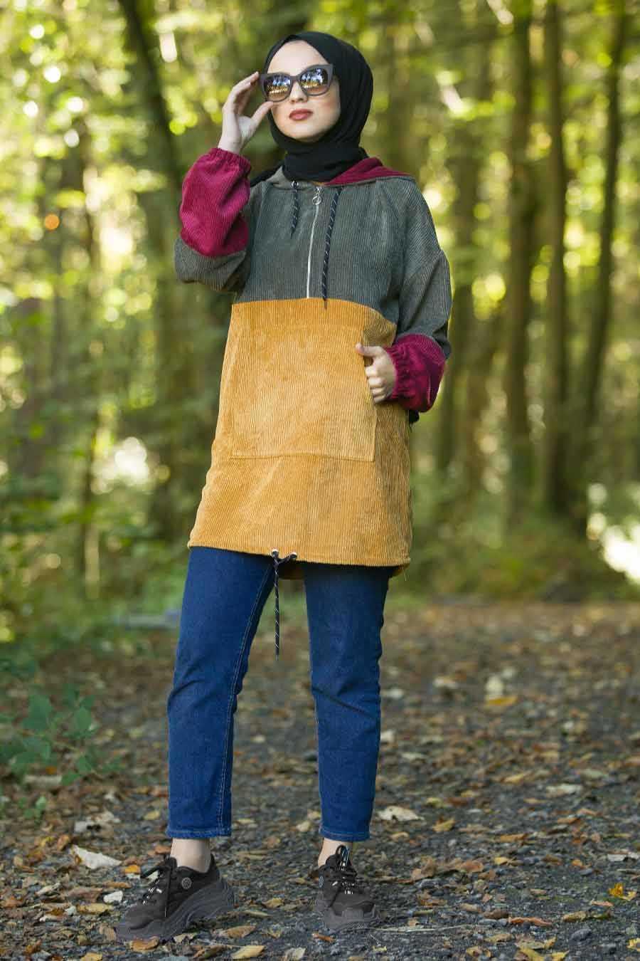 Neva Style Fitilli Tunik Modelleri