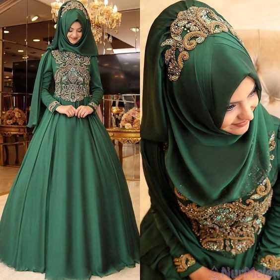 Pınar Şems Zümrüt Yeşili Abiye Modelleri