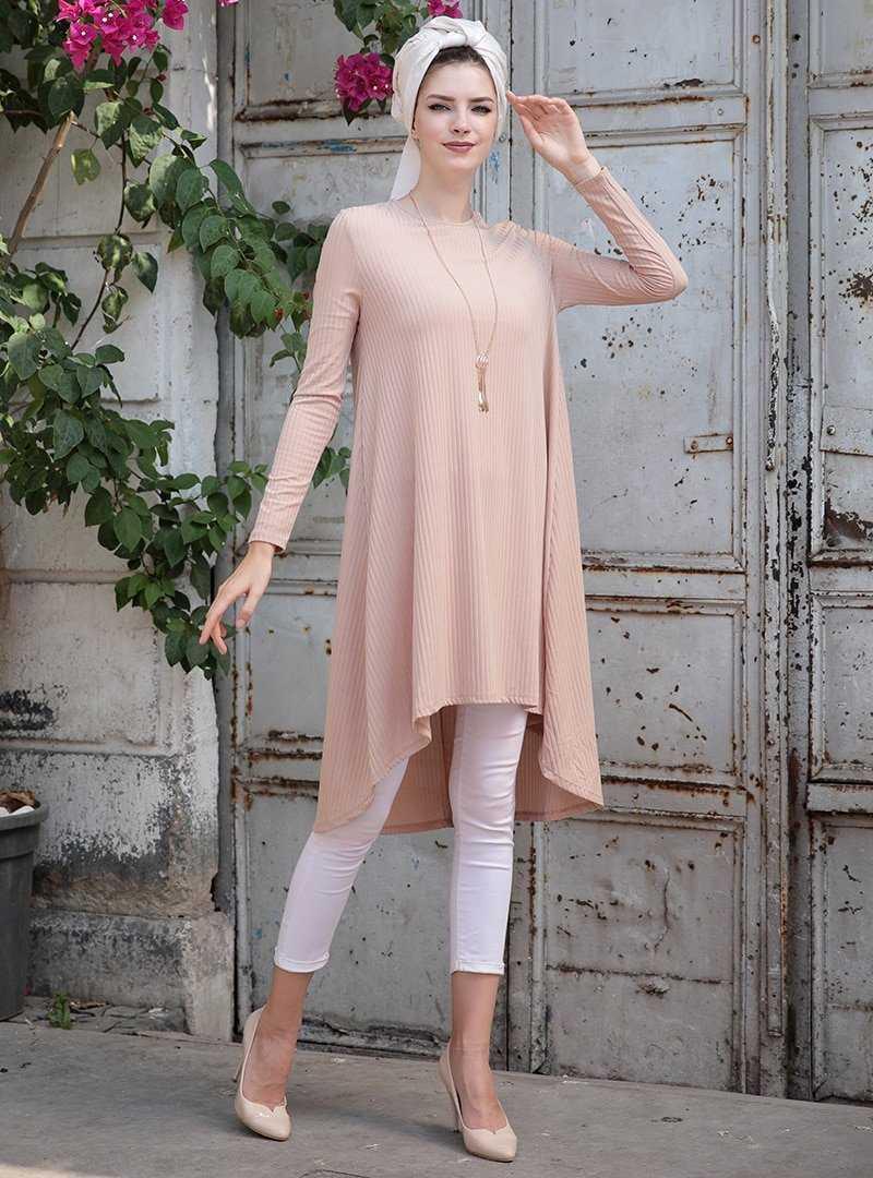 Selma Sarı Design Fitilli Tunik Modelleri