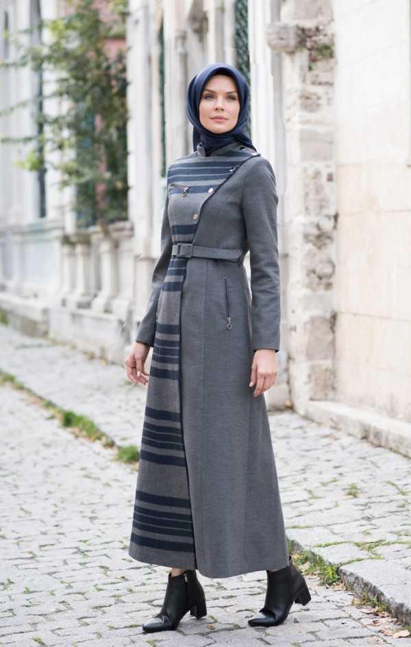 Tesettür Kaşmir Pardesü Modelleri