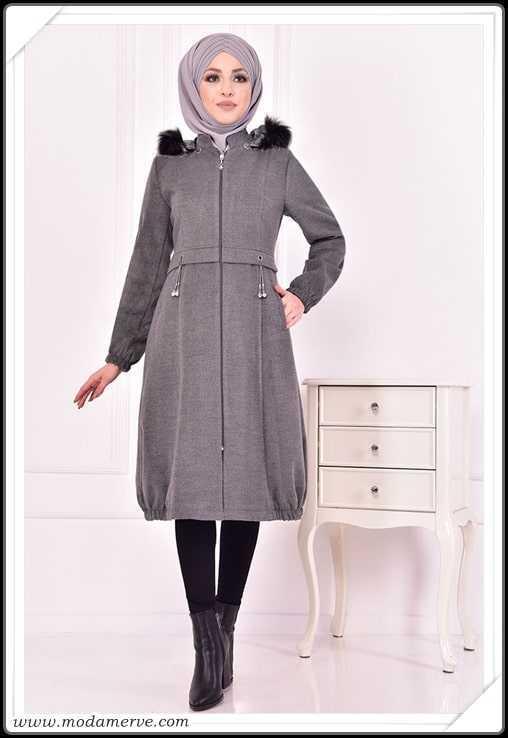 En Özel Modamerve Sonbahar Kış Tesettür Modası