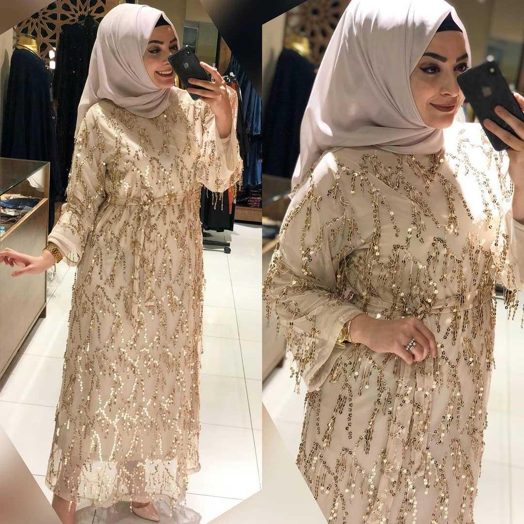 Fahrunur Butik Tesettür Pullu Abaya Modelleri
