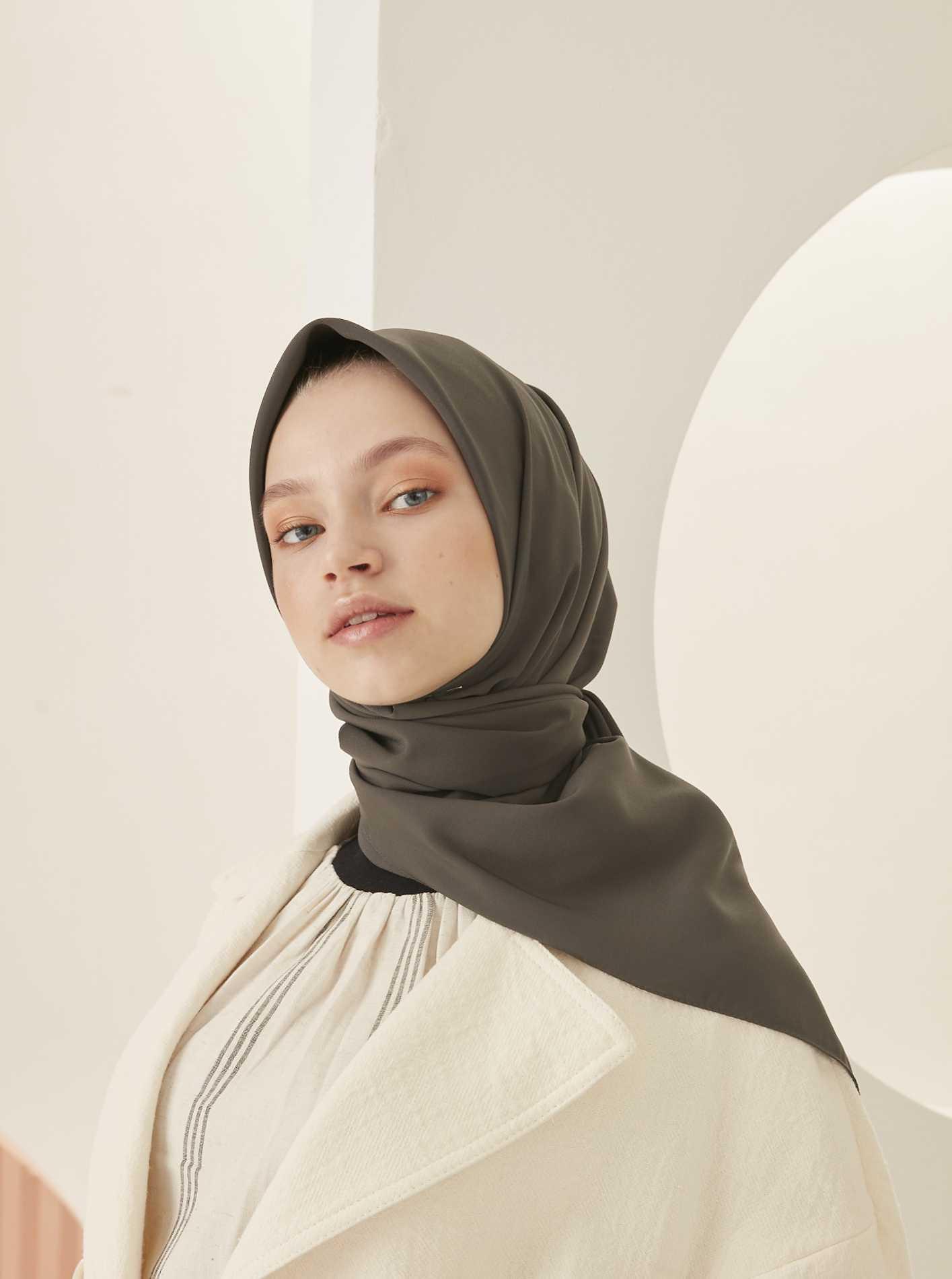 Modakaşmir Medine İpeği Eşarp Modelleri