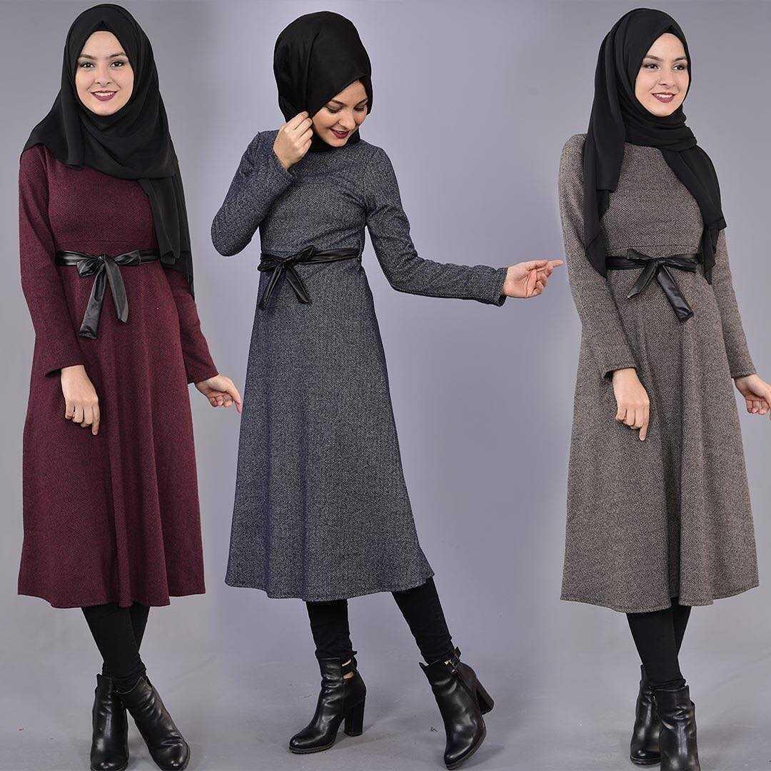 Modamerve Sonbahar Kış Tesettür Kıyafet Modası