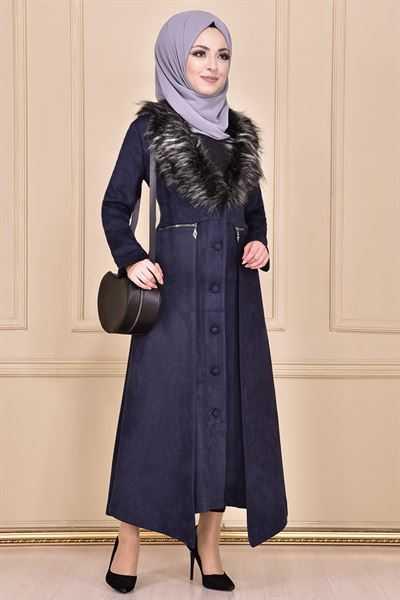 Modamerve Sonbahar Kış Tesettür Manto Modası