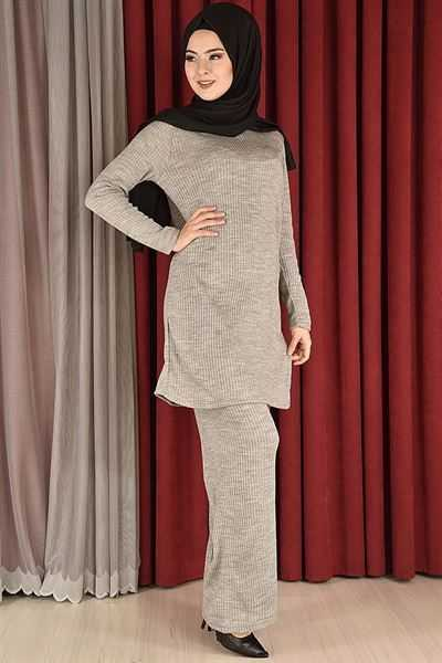 Modamerve Sonbahar Kış Tesettür Triko Modası