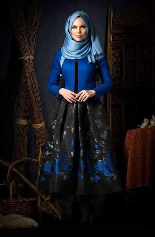 Muslima Wear Tesettür Jakarlı Etek Modelleri