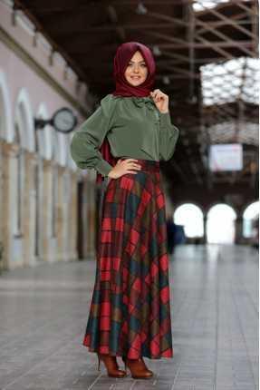 Pınar Şems Günlük Kışlık Tesettür Modelleri