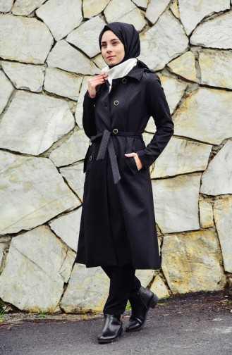 Sefamerve Tesettür Siyah Renk Dış Gyim Modası