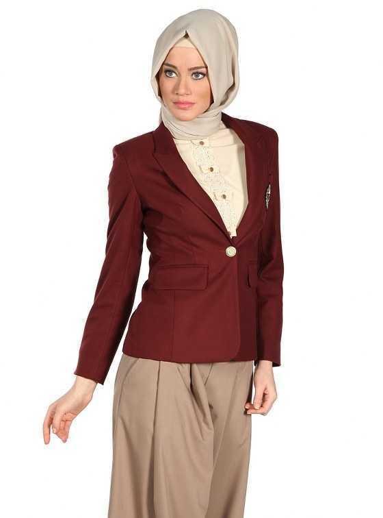 Tekbir Giyim Tesettür Kısa Ceket Modelleri