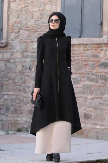 Tesettür Siyah Renk Modası