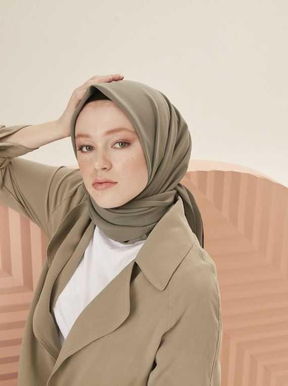 Trend Şal Eşarp Medine İpeği Eşarp Modelleri