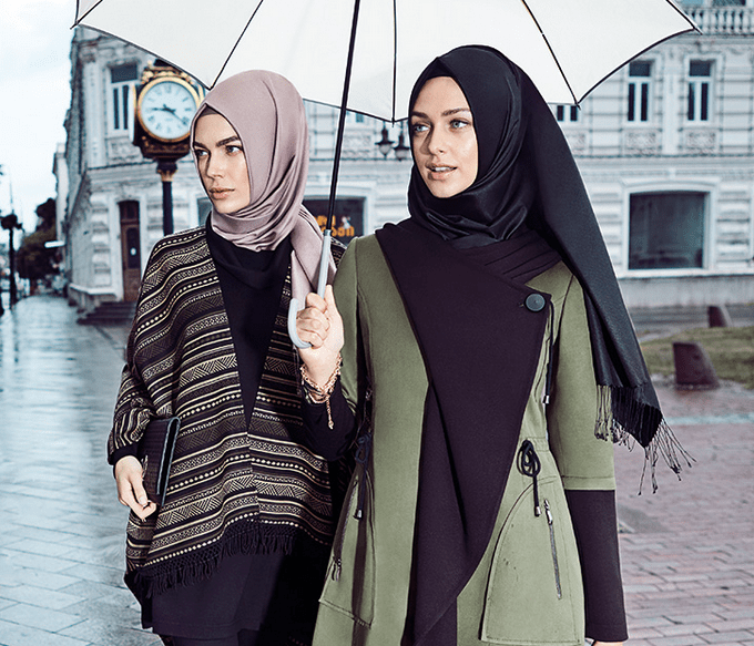 Şık ve Modern Kışlık Genç Tesettür Kıyafet Modelleri