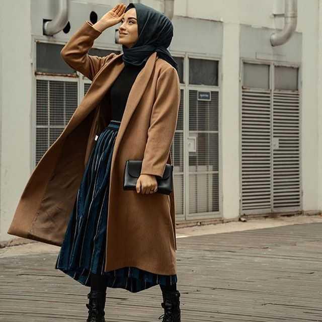 2019 Kışlık Genç Tesettür Kıyafet Modelleri