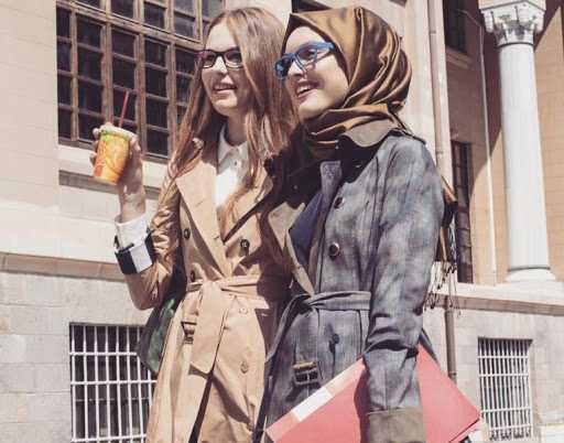 En Şık Kışlık Genç Tesettür Kıyafet Modelleri