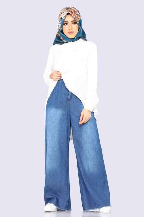 Moda Selvim Tesettür Pantolon Kombinleri