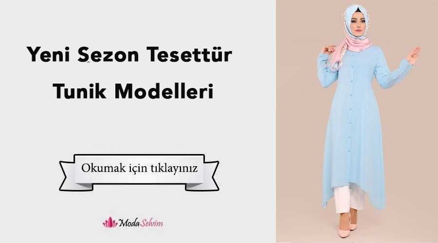 Moda Selvim Yeni Sezon Tesettür Tunik Modelleri