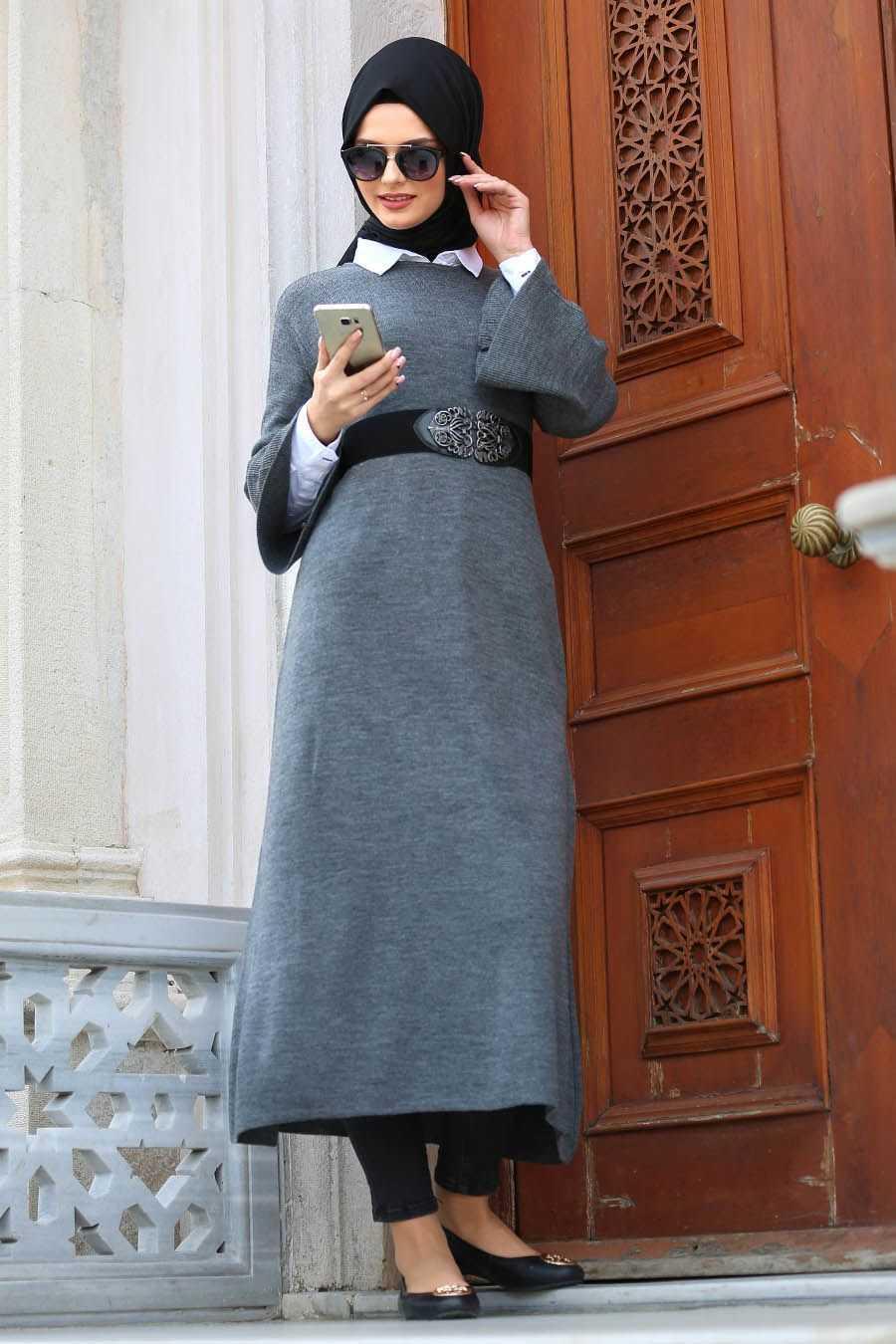 Neva Style Kışlık Genç Tesettür Kıyafet Modelleri