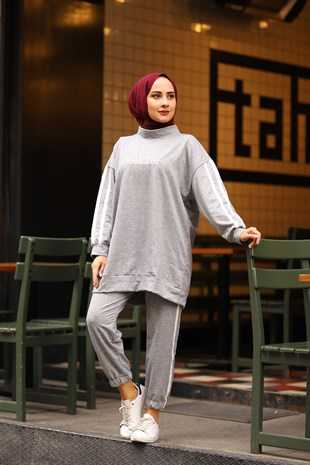 Nurhira Kışlık Genç Tesettür Kıyafet Modelleri