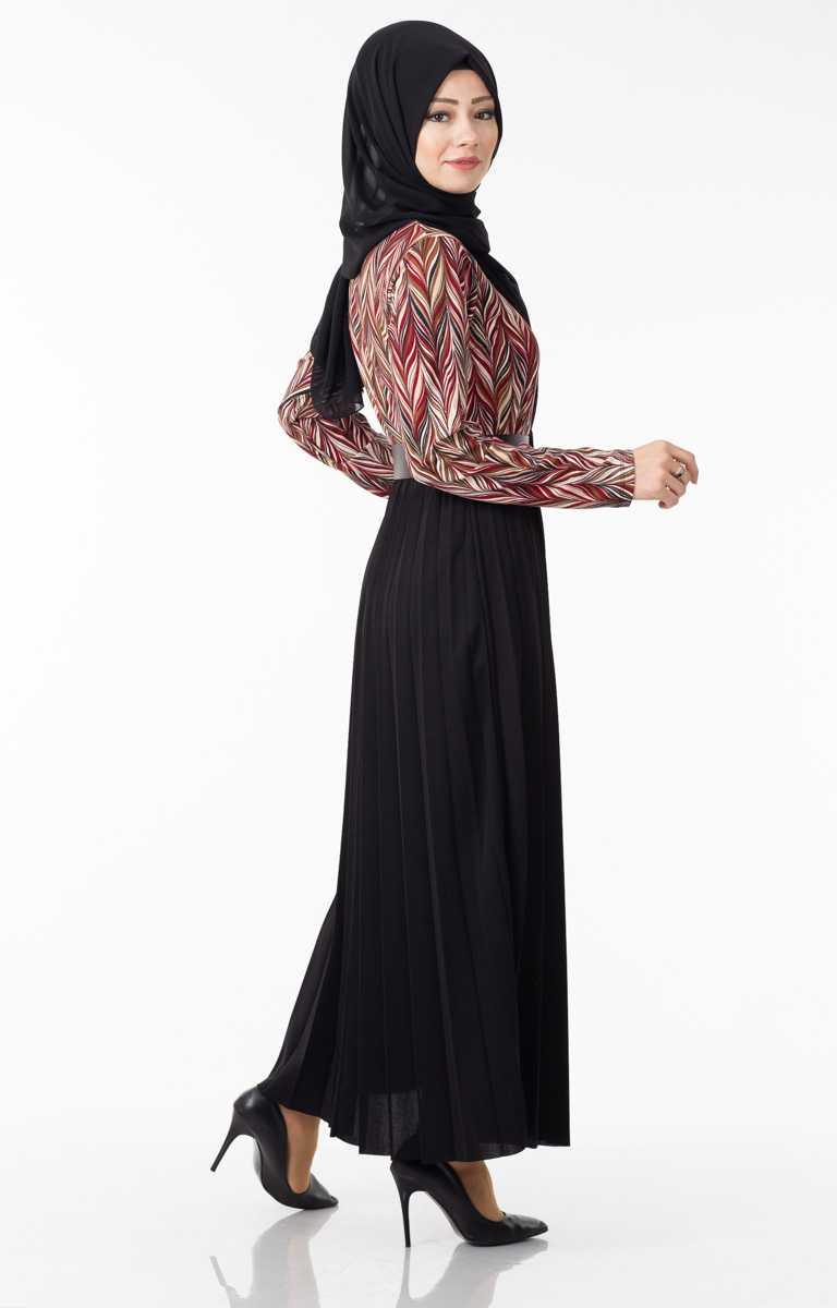 Tesettür Pazarı Verev Desen Kıyafet Modelleri