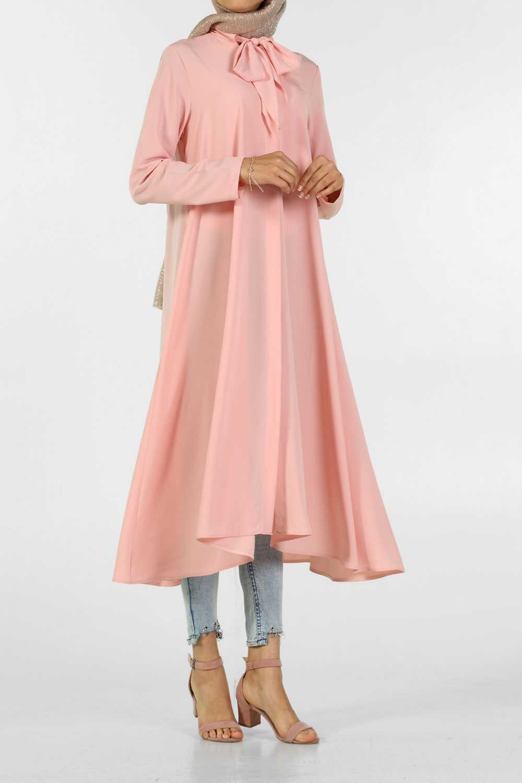 Allday Tesettür Fularlı Tunik Modelleri