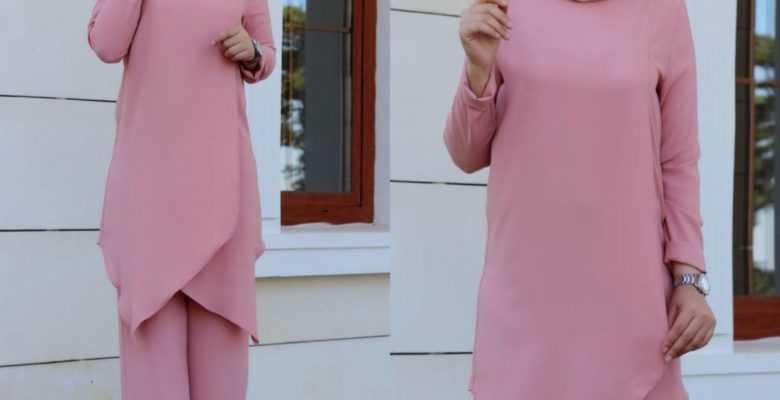 Tesettür İpek Tunik Modelleri