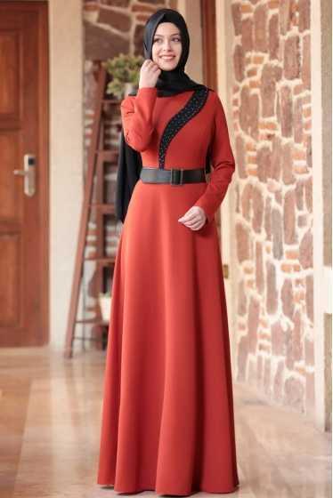 En Özel 2020 Tesettür Elbise Modelleri