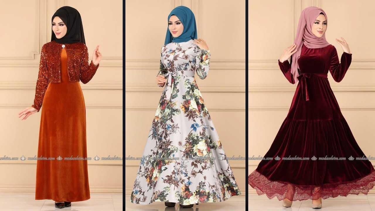 Moda Selvim 2020 Şık Tesettür Elbise Modelleri