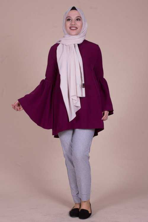 Modayare Günlük Tesettür Bluz Modelleri