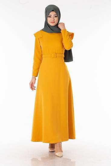 Tesettür Pazarı 2020 Elbise Modelleri