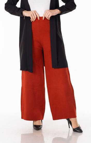 Tesettür Pazarı Bol Paça Pantolon Modelleri