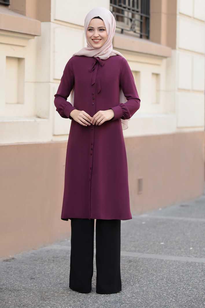 Şık ve Modern Al Marah Tesettür Tunik Modelleri